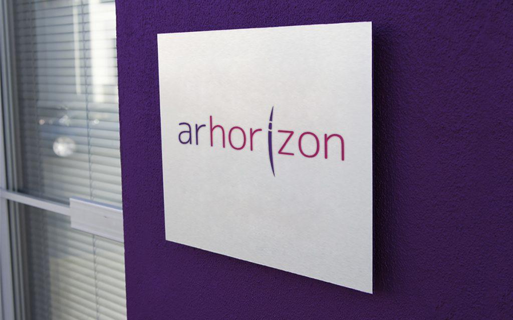 Logo arhorizon wizualizacja