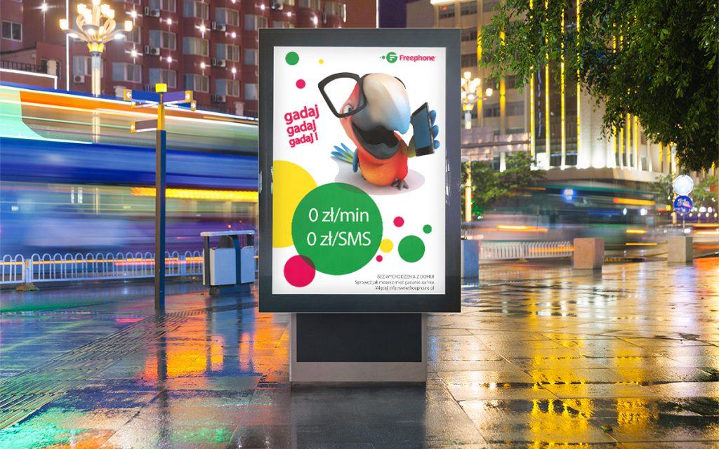zaprojektowane plakaty free phone