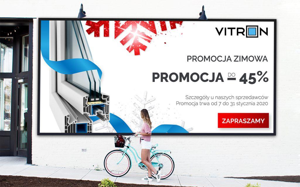 projekt graficzny reklamy Vitron